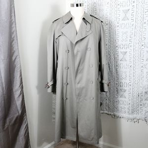 Stafford Double Breasted Trench Coat